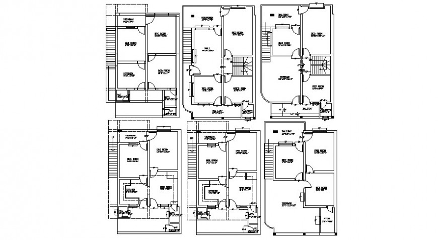 2 d cad drawing of ground and first floor auto cad software