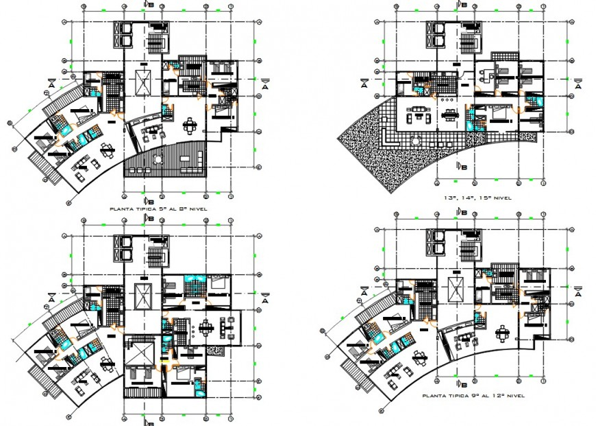 2 d cad drawing of house complex high plan auto cad software