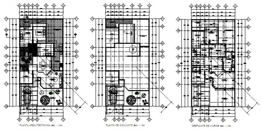 2 d cad drawing of house exterior Auto Cad software