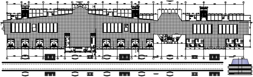2 d cad drawing of mishko house plan Auto Cad software