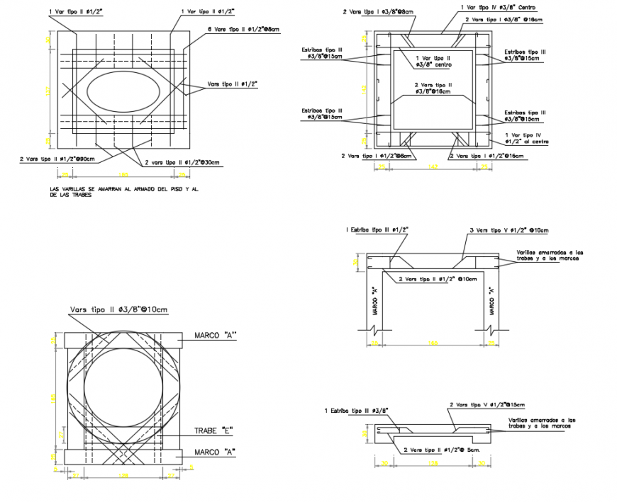 2 d cad drawing of pit junction box auto cad software