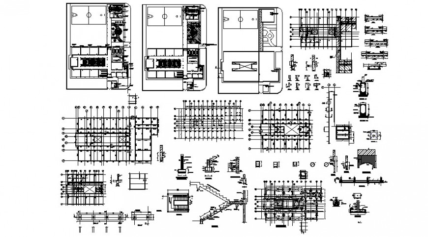 2 d cad drawing of primary school auto cad software