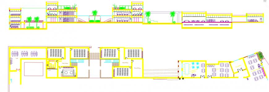 2 d cad drawing of school auto cad software