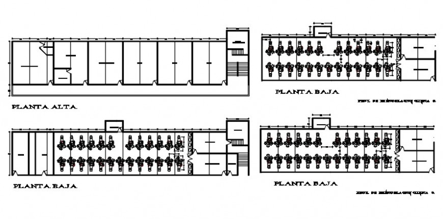 2 d cad drawing of showroom plan auto cad software
