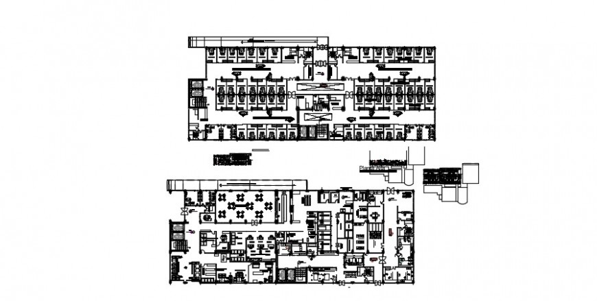 2 d cad drawing of specialty clinic elevation auto cad software
