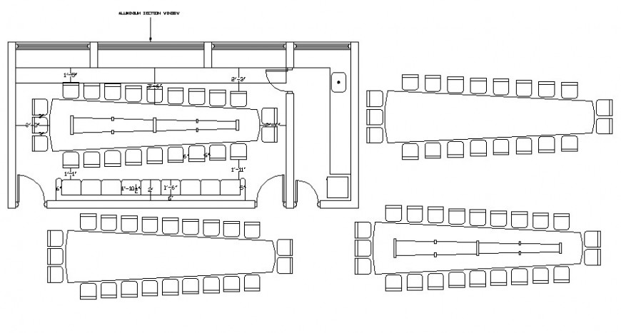 2 d cad drawing of store floor plan Auto Cad software