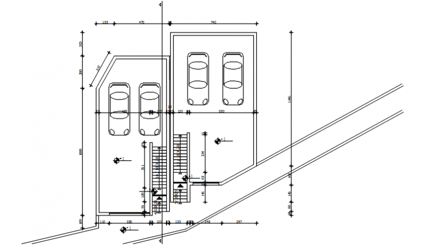 2 d cad drawing of terrace area Auto Cad software