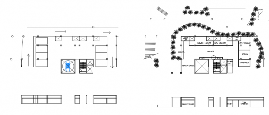 2 d cad drawing of top elevation auto cad software