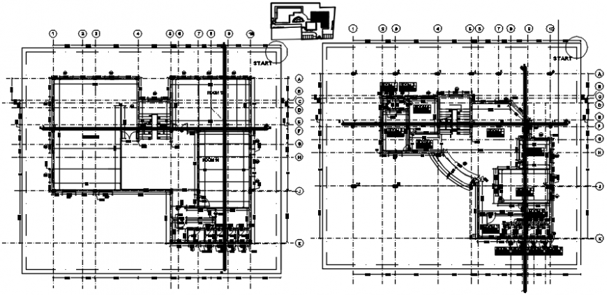 2 d cad drawing office interior layout elevation Auto Cad software