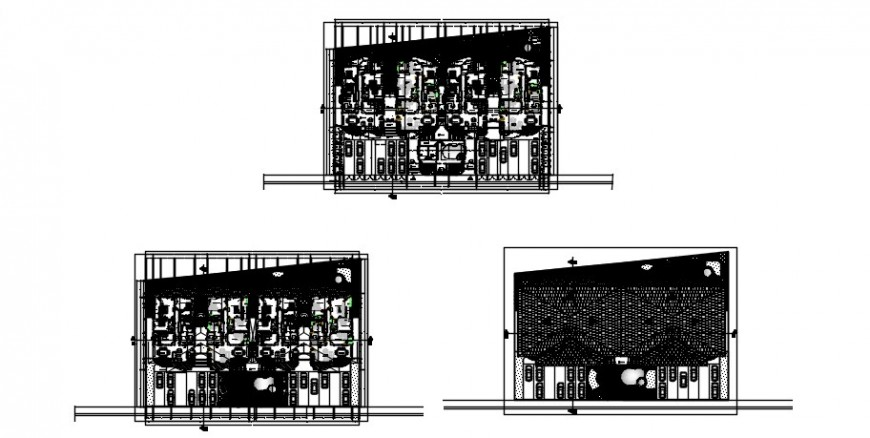 2 d cad drawing plan elevation Auto Cad software