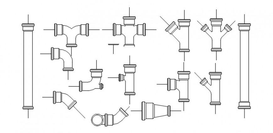 2 d cad drawings of pipeline pump auto cad software
