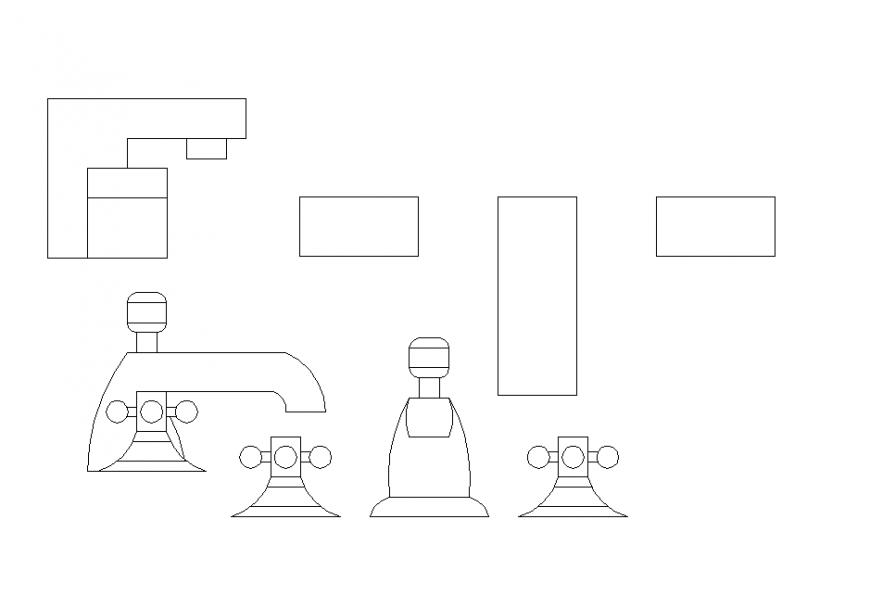 2 D tap plumbing design detail