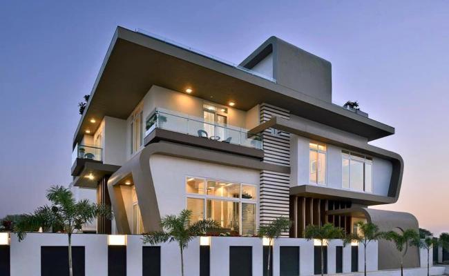 Modern bungalows 3d