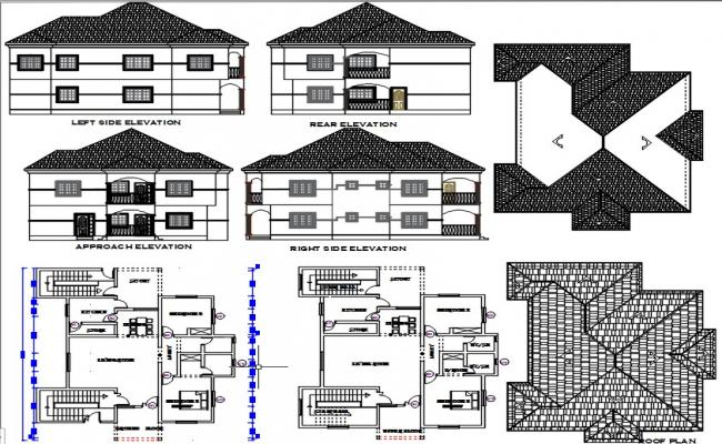 2bedroom apartment residential building.