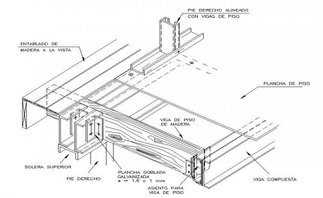 Steel Frame Detail