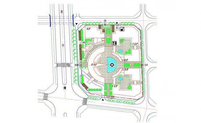 2d Area Design Landscaping Plan