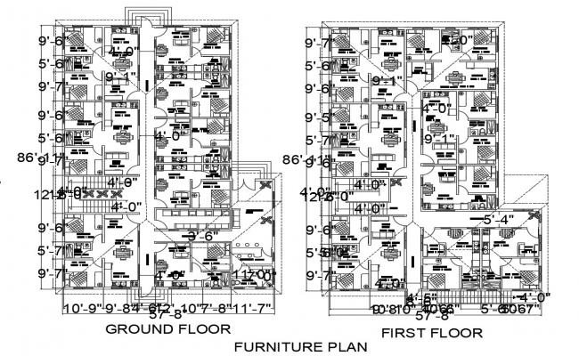 2d CAD plan of house apartment drawings in autocad software
