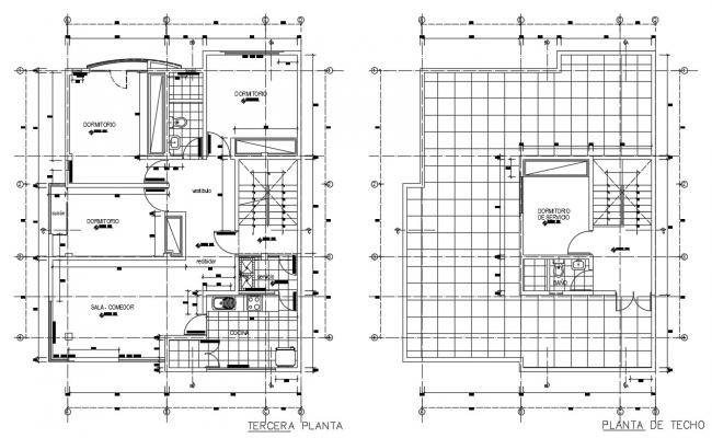 2d layout plan of housing living apartment dwg file