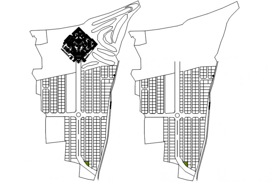 2D Apartment plotting detail autocad file