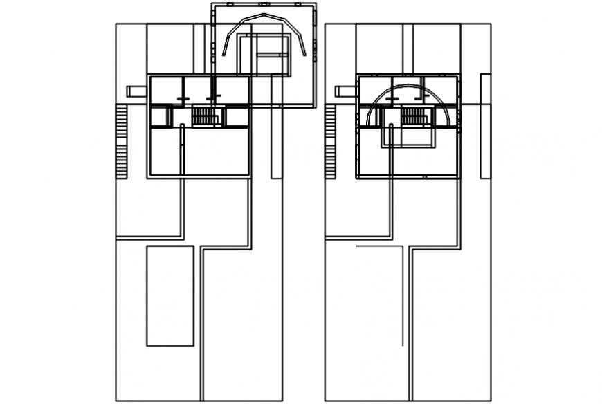 2d building layout plan cad file