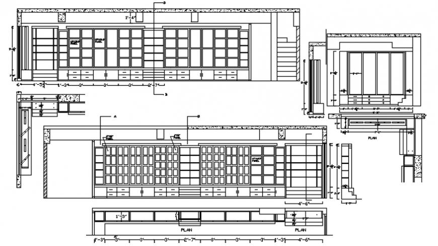 2d cad drawing display unit Autocad software