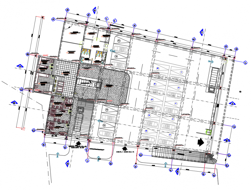 2d cad drawing of anchor store autocad software