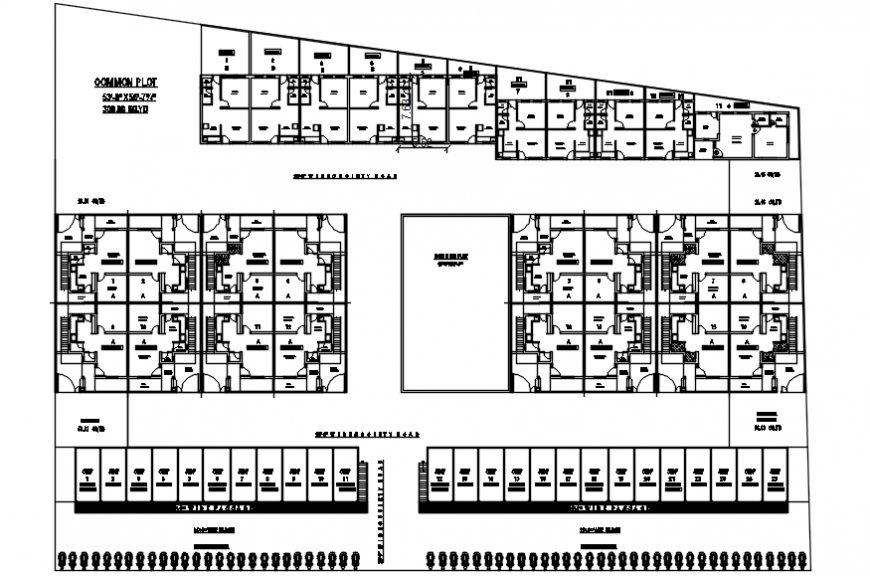 2d cad drawing of building plan autocad software