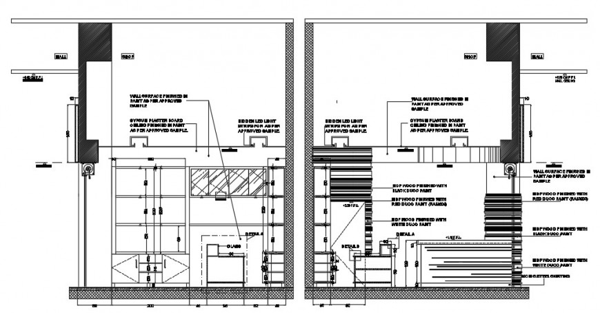 2d cad drawing of cacao factory elevation autocad software