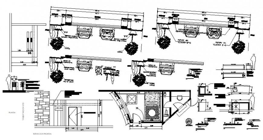 2d cad drawing of car elevation auto cad software