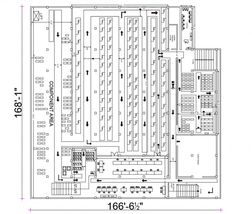 2d cad drawing of central finishing all floor layout top elevation autocad software
