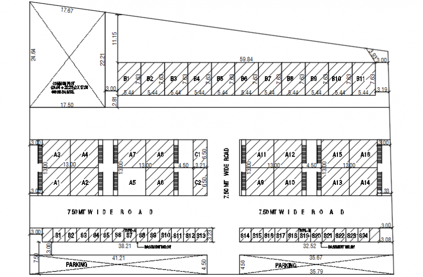 2d cad drawing of commercial and building plan autocad software