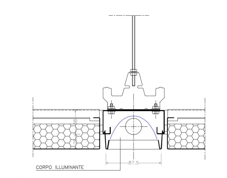 2d cad drawing of corporate illuminate auto cad software