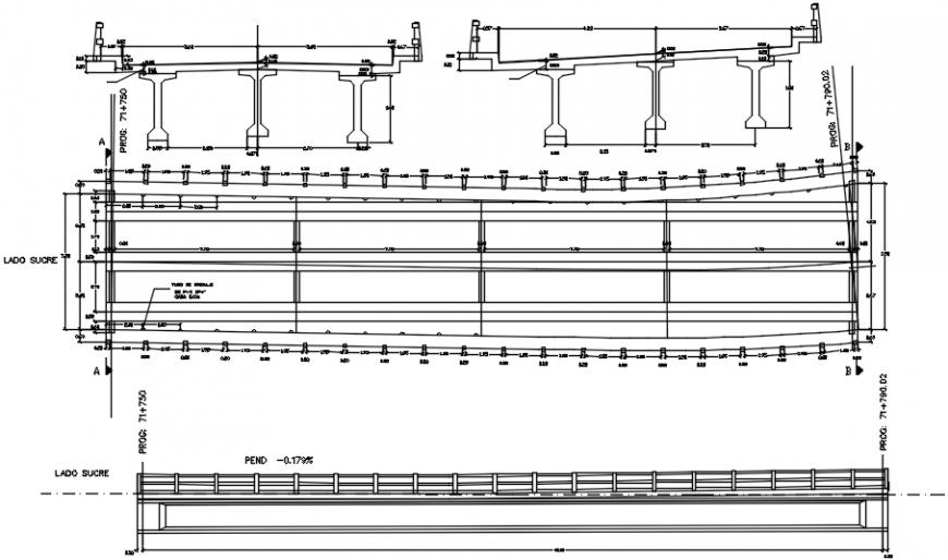 2d cad drawing of detteled punt 2 autocad software