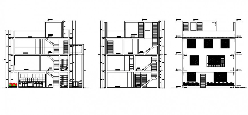 2d cad drawing of dwelling plan house elevation auto cad software