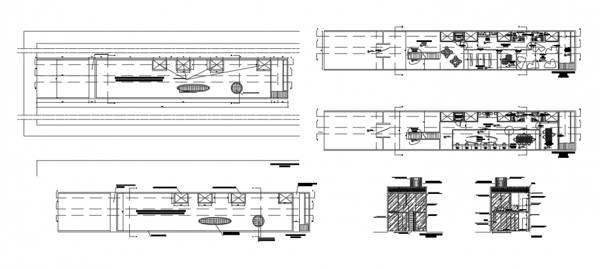 2d cad drawing of escort architecture auto cad software