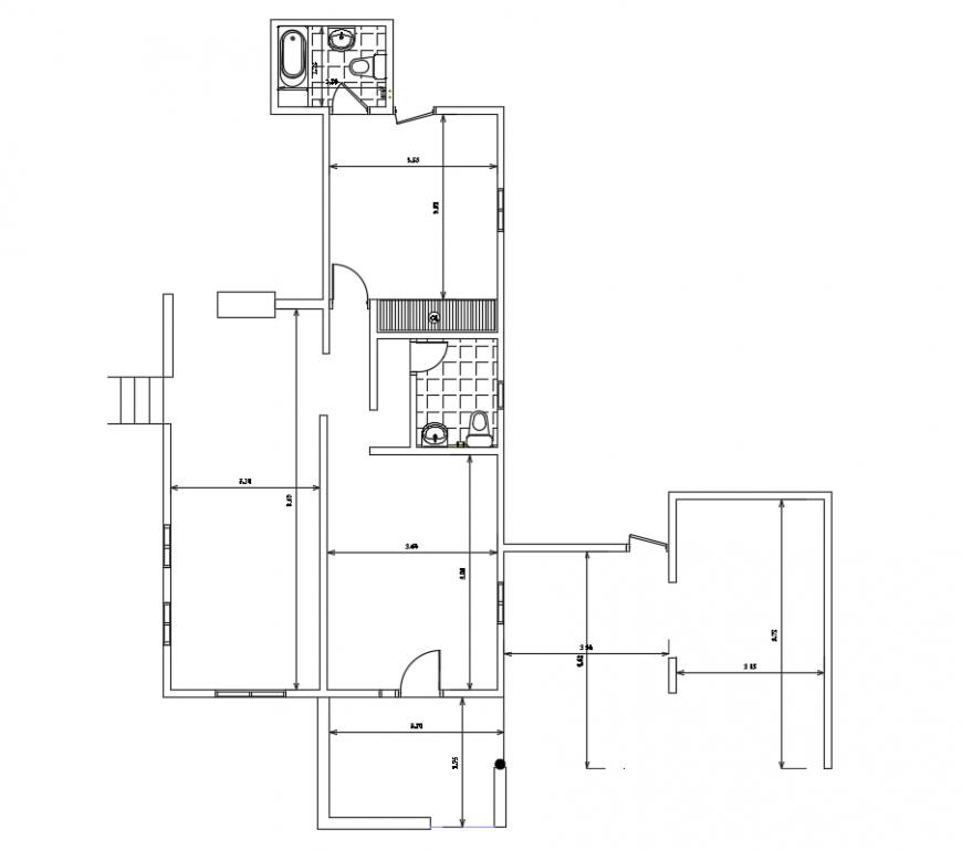2d cad drawing of este clinic flooring autocad software