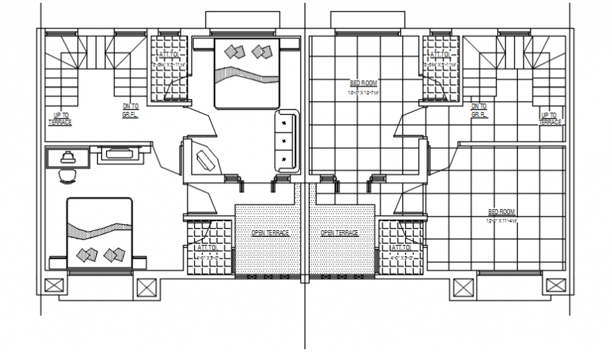 2d cad drawing of first floor plan autocad software