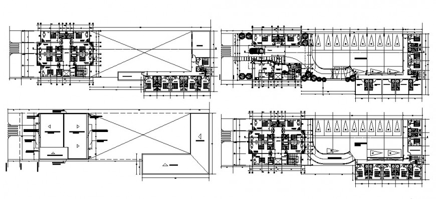 2d cad drawing of floor house section autocad software