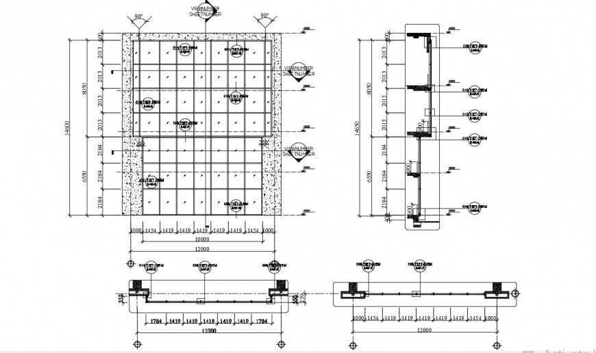 2d cad drawing of floor level autocad software