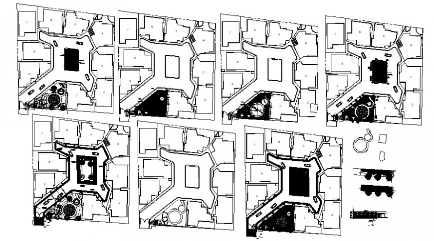 2d cad drawing of floor plan elevation autocad software