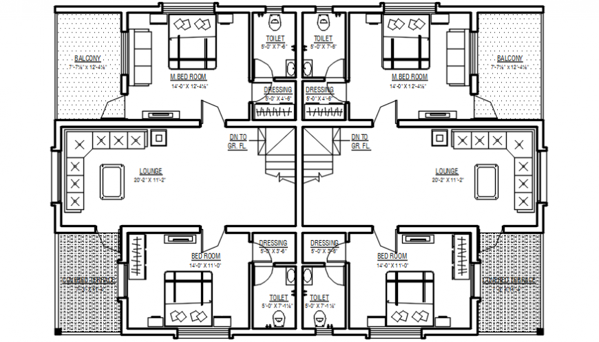 2d cad drawing of ground floor alternative  2 autocad software