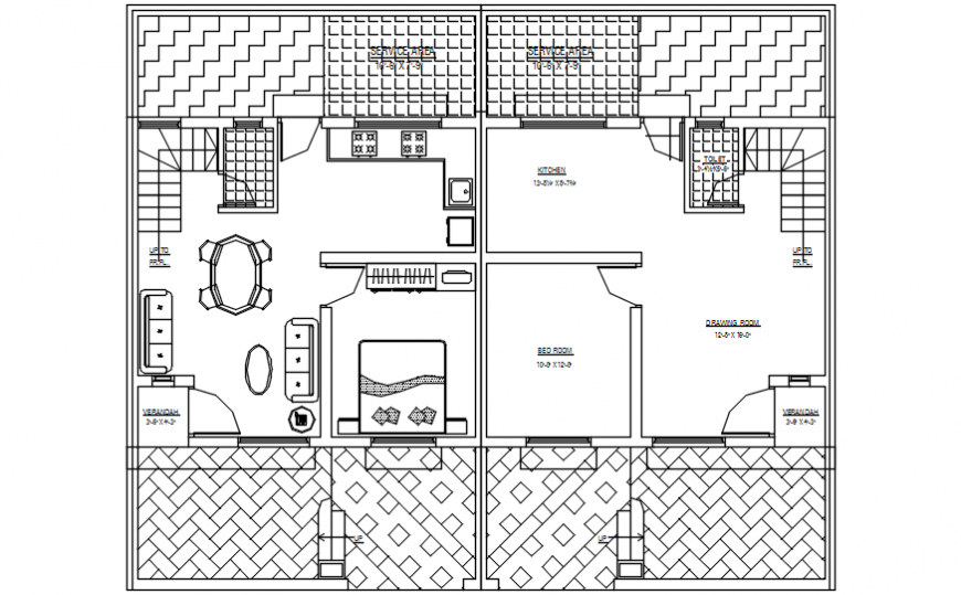 2d cad drawing of ground floor plan alternative autocad software