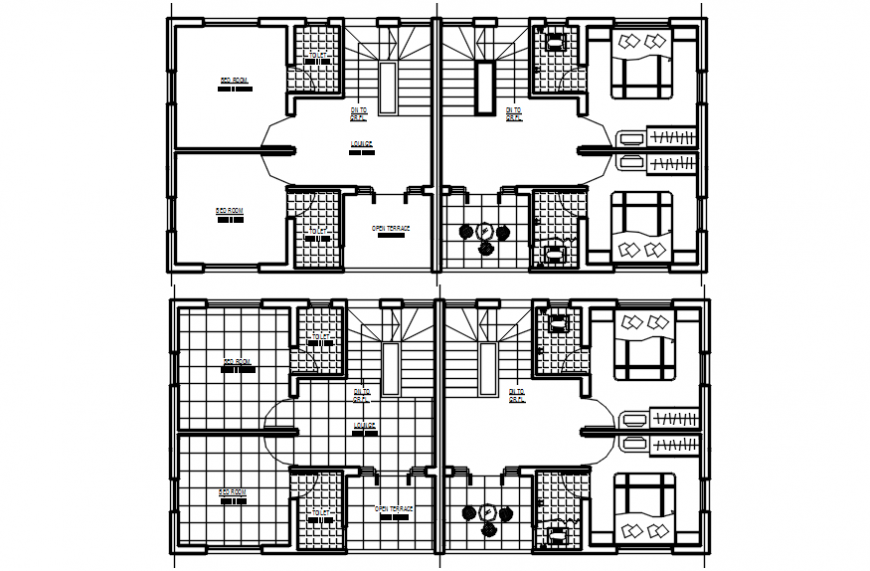 2d cad drawing of home ground floor plan autocad software
