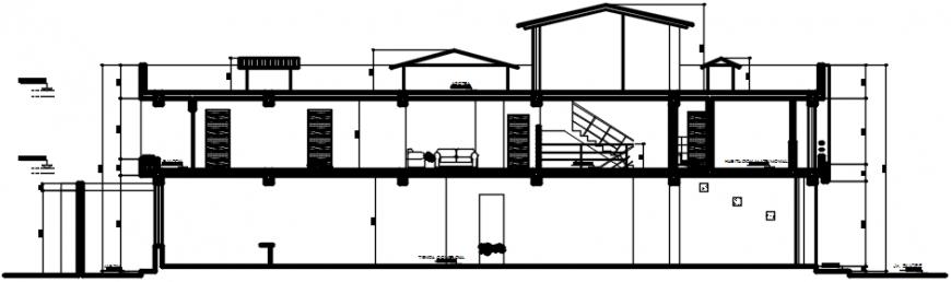 2d cad drawing of hostel exterior auto cad software