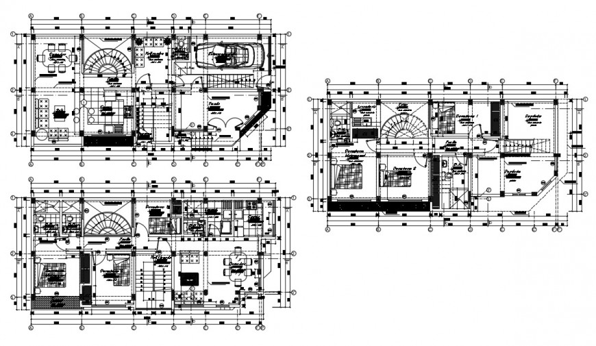 2d cad drawing of house elevation Oliver autocad software