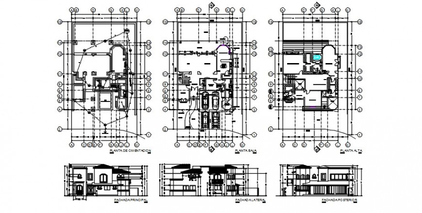 2d cad drawing of house plot plan auto cad software