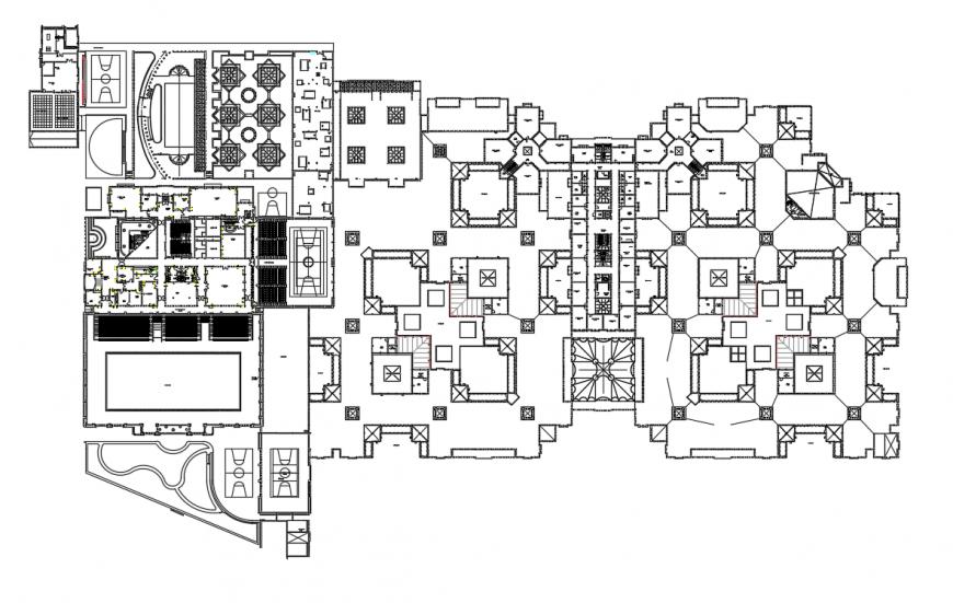 2d cad drawing of junior classroom auto cad software