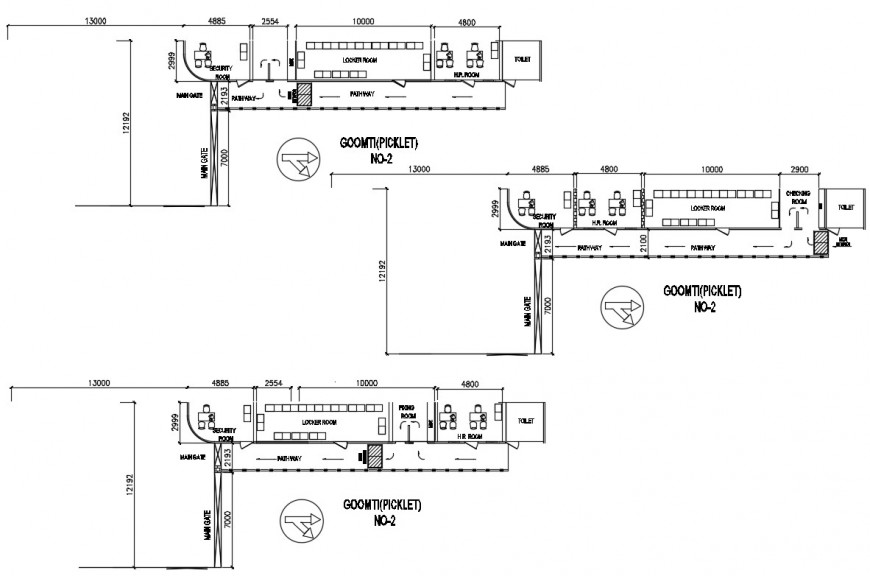 2d cad drawing of master layout elevation autocad software