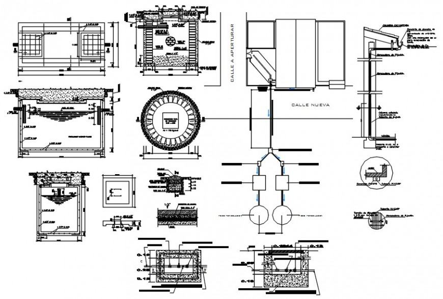2d cad drawing of medical with auditorium autocad software