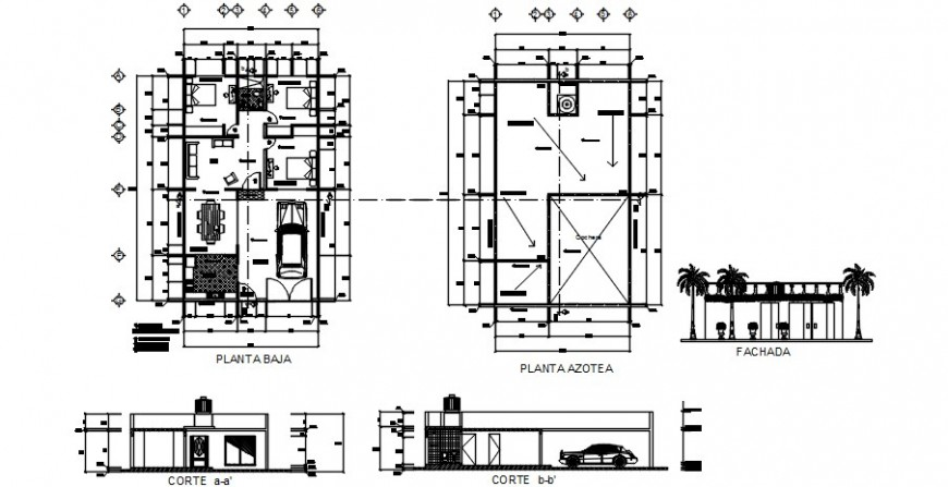 2d cad drawing of outer exterior Auto Cad software